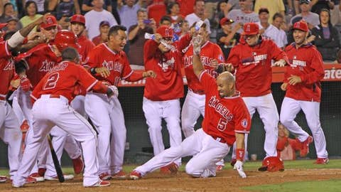 Gallery: Pujols, Angels outlast Red Sox in 19 innings