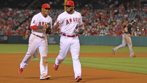 Gallery: Shoemaker shines in Angels' win