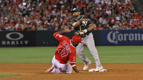 Gallery: Angels win thriller in 10th