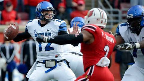 Across the Field: Memphis QB Paxton Lynch