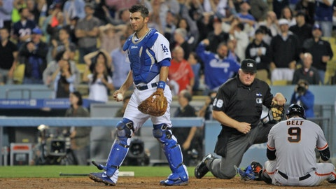 Dodgers fall to Giants in 13 innings