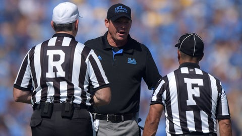 Intangible: UCLA head coach Jim Mora