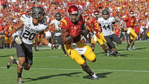 Gallery: USC rolls over Colorado during Kessler's big day