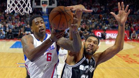 No. 8 Los Angeles Clippers vs. No. 9 San Antonio Spurs