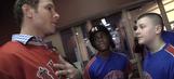 Josh Hamilton surprises AAU team at Louisville Slugger factory