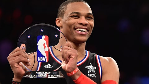 WEST -- Guard: Russell Westbrook