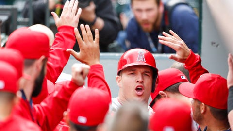 How has Mike Trout followed his MVP campaign?