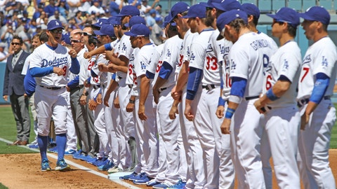 Gallery: Dodgers opening day