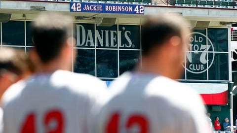 Angels honor Jackie Robinson