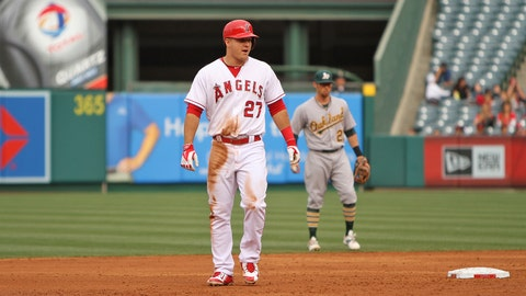 Gallery: Athletics vs. Angels