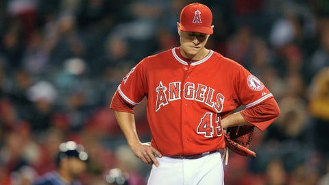 Angels: How healthy are the starters?