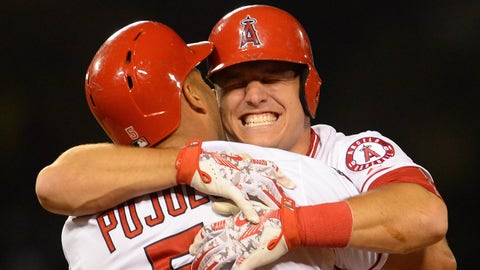 High: Mike Trout doing Mike Trout things
