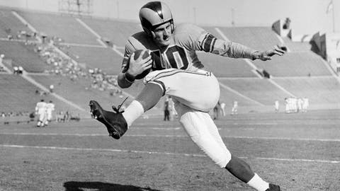 Elroy 'Crazy Legs' Hirsch, WR/RB, 1949-57
