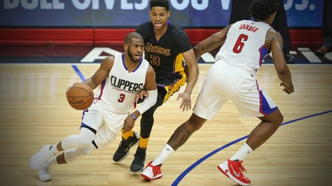 Clippers 105, Lakers 93 (1/29)