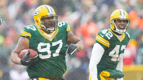 Johnny Jolly, Packers defensive tackle