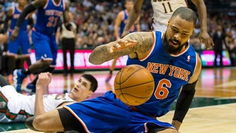 Knicks at Bucks: 12/18/13