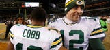 Aaron Rodgers, Randall Cobb connection leads Packers to playoffs