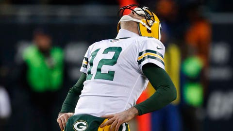 Aaron Rodgers is the Packers' only problem