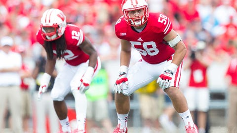 Joe Schobert, Badgers linebacker