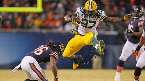Eddie Lacy says Vikings visit was 'pretty cool'