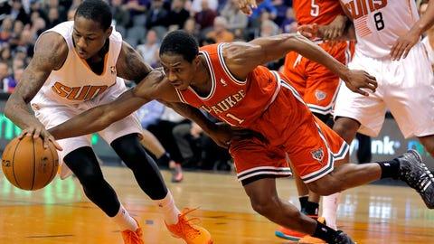 Bucks at Suns: 1/4/14
