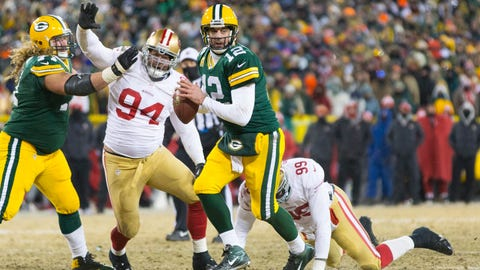 Aaron Rodgers: In pictures