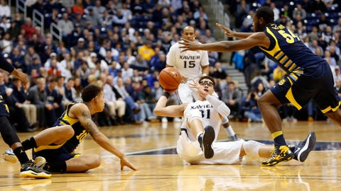 Marquette at Xavier: 1/9/14