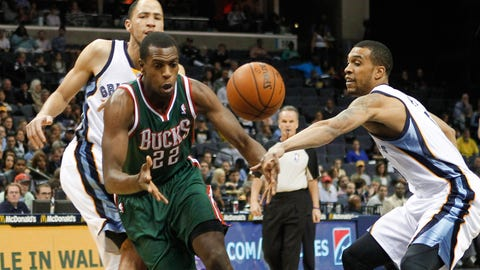 Bucks at Grizzlies: 2/1/14