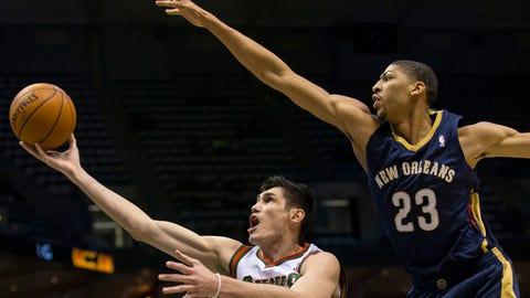 Pelicans at Bucks: 2/12/14