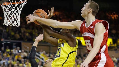Badgers at Wolverines: 2/16/14