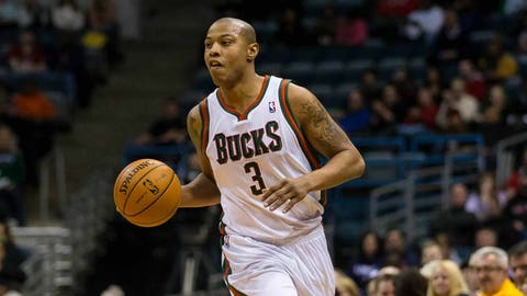 Caron Butler. Stats: 11.0 PPG, 4.6 RPG, 1.6 APG, 38.7 FG%, 83.9 FT%, 36.1 3PT% in 34 games with the Bucks