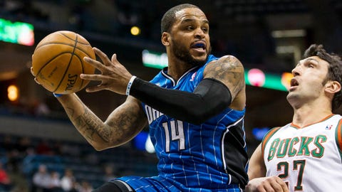 Jameer Nelson, 6-0, PG, Magic (unrestricted)