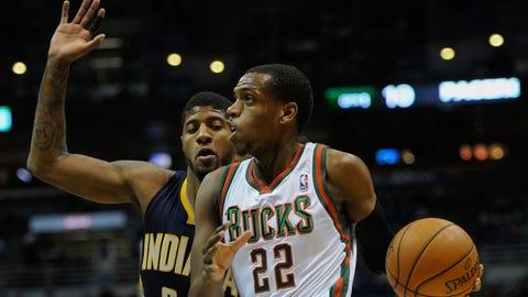 Pacers at Bucks: 2/22/14