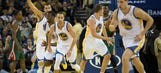 Bucks allow 60 combined points to Warriors' Curry, Thompson in loss