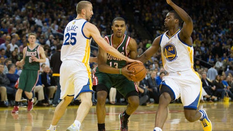 Bucks at Warriors: 3/20/14