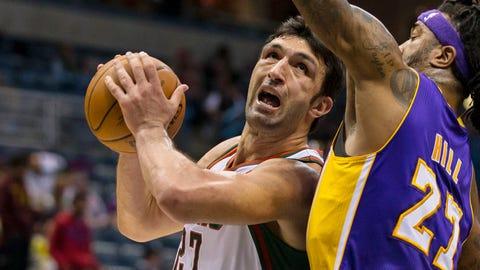 Lakers at Bucks: 3/27/14