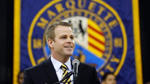 Steve Wojciechowski, coach, Marquette
