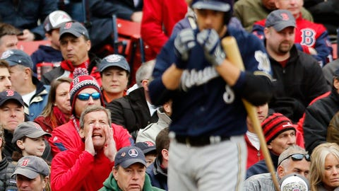 Brewers at Red Sox: 4/4/14-4/6/14