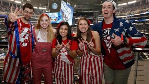 Red, white and Badgers