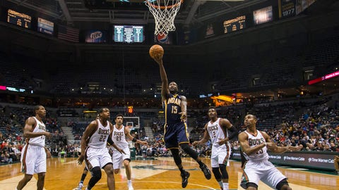 Pacers at Bucks: 4/9/14