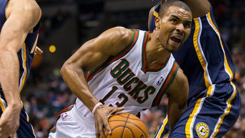 Ramon Sessions. Stats: 15.8 PPG, 3.1 RPG, 4.8 APG, 46.1 FG%, 84.1 FT%, 35.7 3PT% in 28 games with the Bucks
