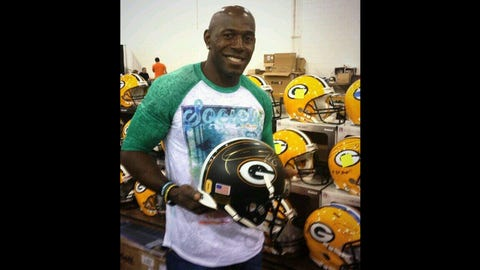 Donald Driver, WR, former Green Bay Packer