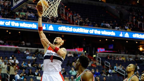 Bucks at Wizards: 4/12/14