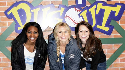 Think Bernie will let the FOX Sports Wisconsin Girls go down his slide?