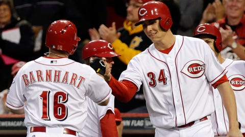 Brewers at Reds: 5/1/14-5/4/14