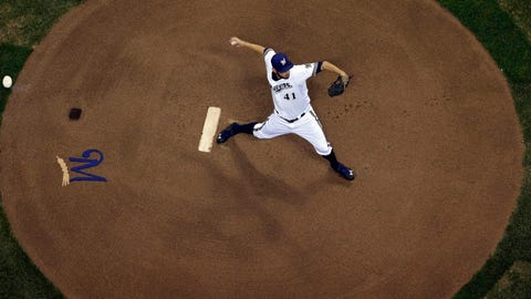 D-backs at Brewers: 5/5/14-5/7/14