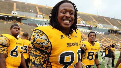 Khyri Thornton (Round 3, No. 85 overall), DL, Southern Mississippi