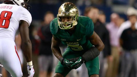 Demetri Goodson (Round 6, No. 197 overall), CB, Baylor