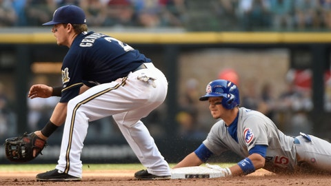 Cubs at Brewers: 5/30/14-6/1/14