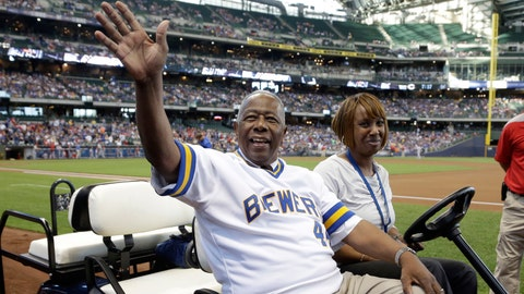 Brewers Wall of Honor ceremony
